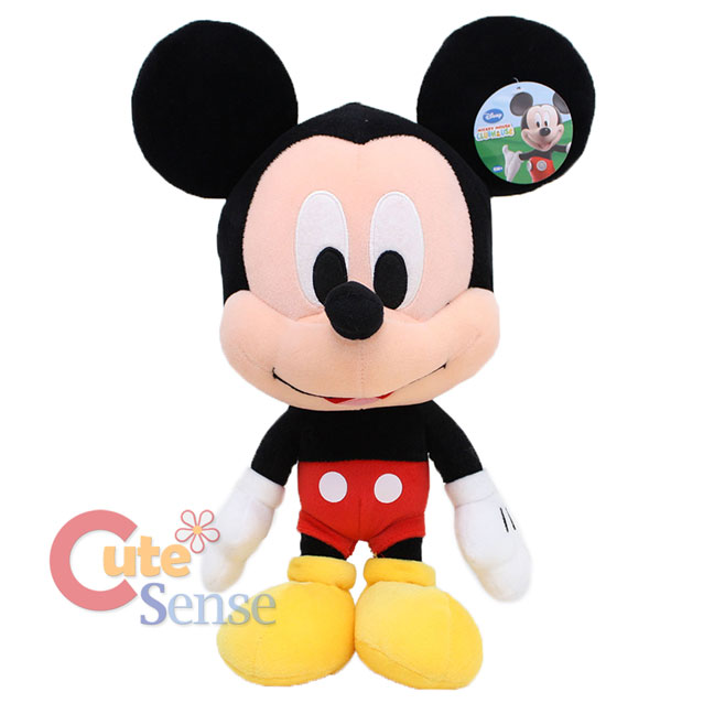 Disney Baby Mickey Minnie Mouse Plush Figure Doll Set   Large 18in