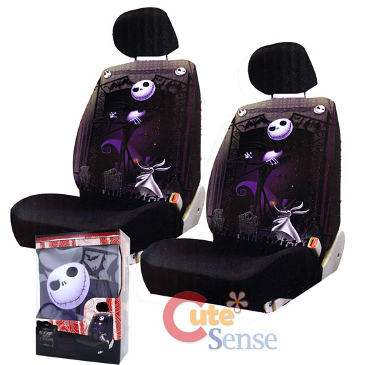 Terrific Nightmare Before Christmas Jack Low Back Car Seat Cover 1 On Bralicious Painted Fabric Chair Ideas Braliciousco