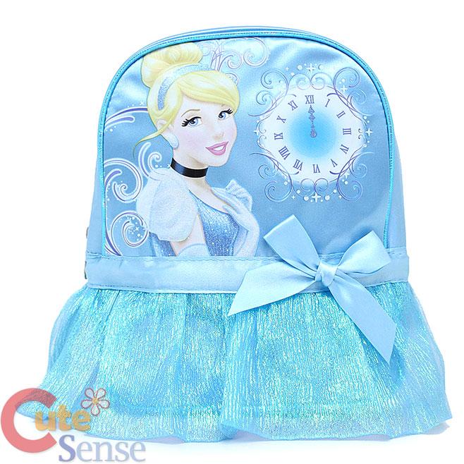"""Disney Princess Baby Cinderella: Disney Princess Cinderella School Backpack 10"""" Mini Bag"""