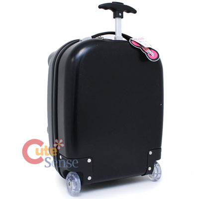Hello Kitty Face Rolling Luggage ,ABS Trolley Bag, Hard Suit Case  Black 0cad1181c0