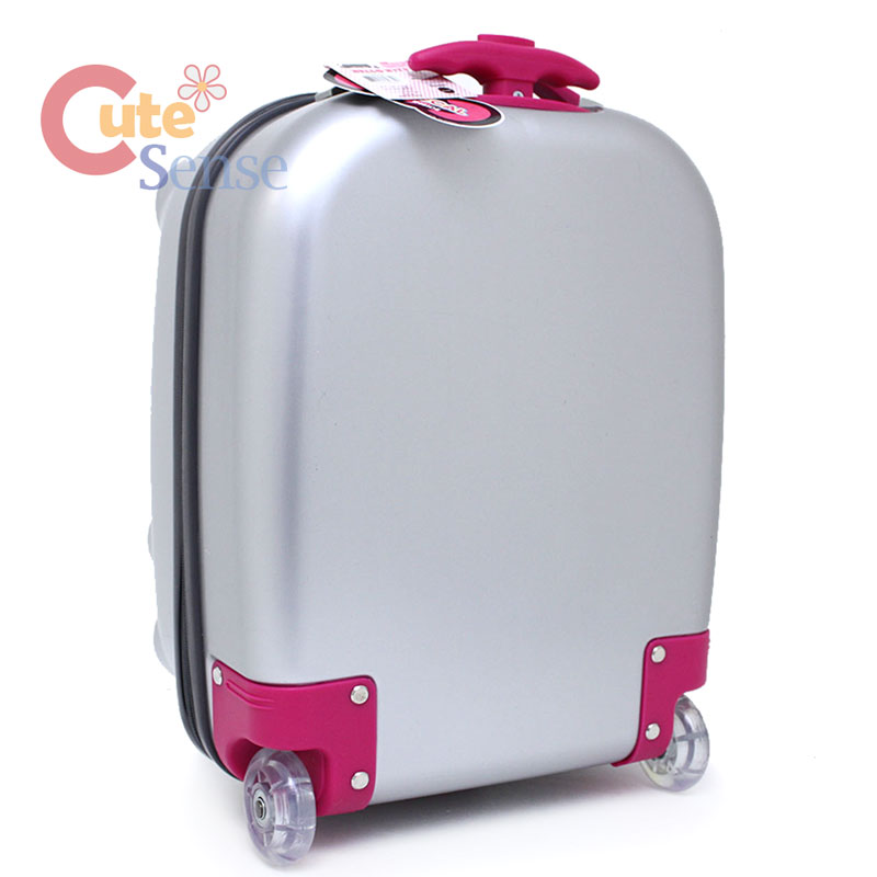 Hello Kitty face ABS Luggage Trolley Hard Case Silver 3.jpg 485a464b5c
