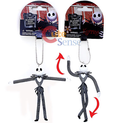 Nightmare Before Christmas Jack Bandable PVC Key Chain Figure 1.jpg