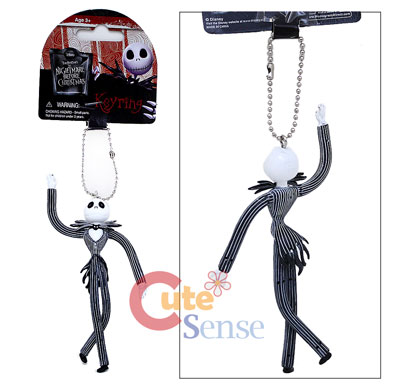 Nightmare Before Christmas Jack Bandable PVC Key Chain Figure 2.jpg