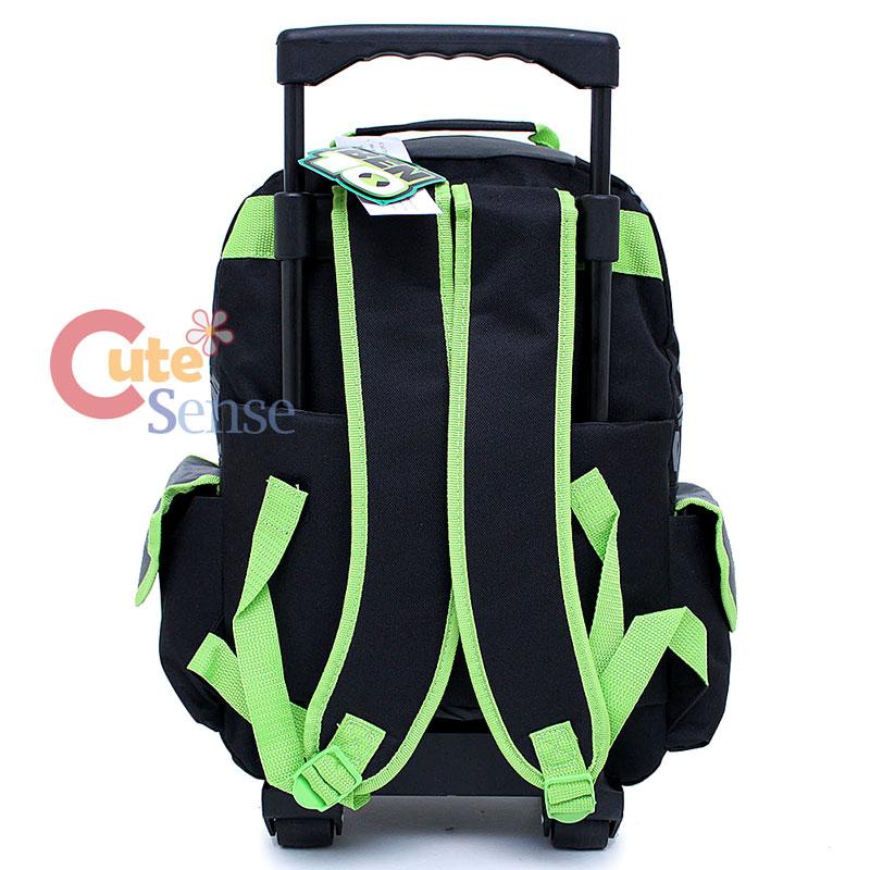 Ben 10 School Large Roller Backpack Rolling Bag Rath 4.jpg
