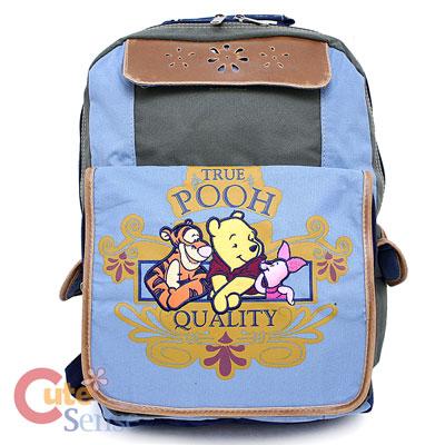 Winnie The Pooh Friends School Large Backpack Book Bag 1.jpg