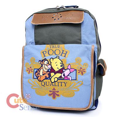 Winnie The Pooh Friends School Large Backpack Book Bag 2.jpg