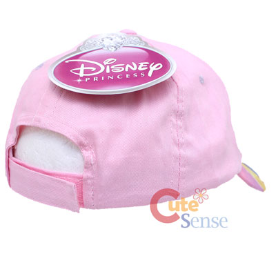 Disney Princess Adjustable Cap Pink Hat a8ddd6498d7