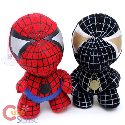 MArvel Spiderman Black Spiderman Baby Plush Doll 1.jpg