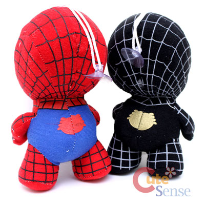 MArvel Spiderman Black Spiderman Baby Plush Doll 2.jpg
