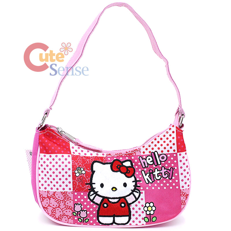 Hand Purse Patterns : Sanrio Hello Kitty Mini Purse Kids Hand Bag Pink Quilt Patterns eBay