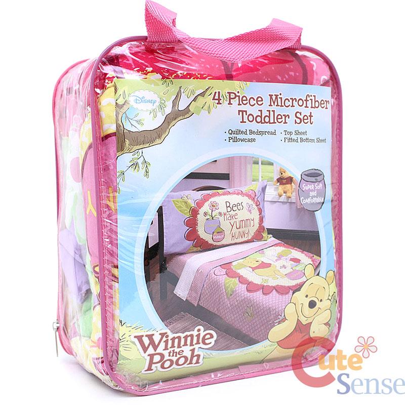Winnie The Pooh Friends Toddler Bedding Comforter Set ...