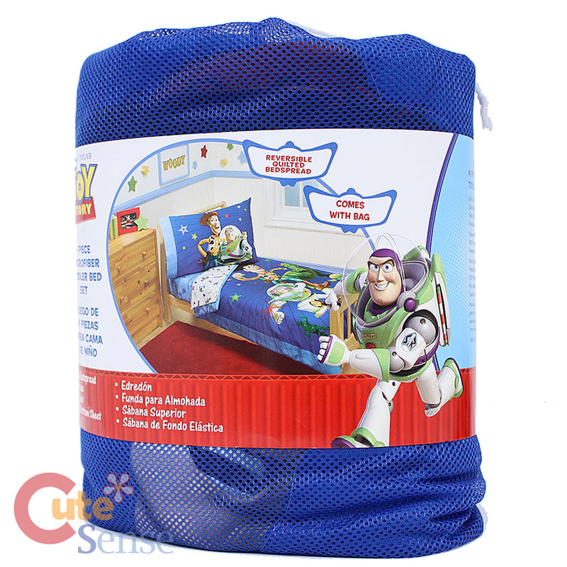 Toy Stroy Buzz and Woody Toddler Bedding Comforter Set ...