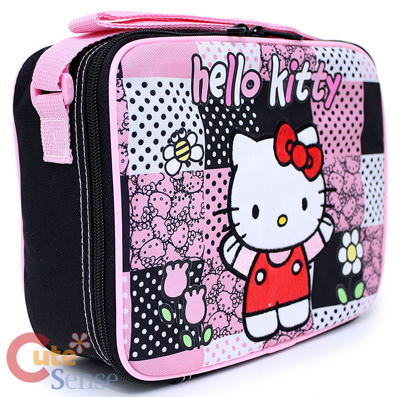 Hello Kitty Lunch Bag With Shoulder Strap 19