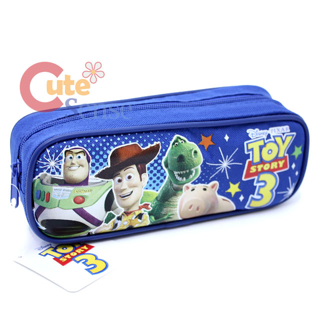 Case Of Toy Story Games : Disney toy story pencil case canvas zippered pouch bag ebay