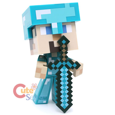 Minecraft Steve Diamond