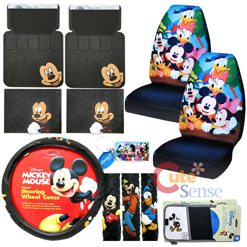 Disney Miceky Mouse Friends Car Seat Covers Accessories