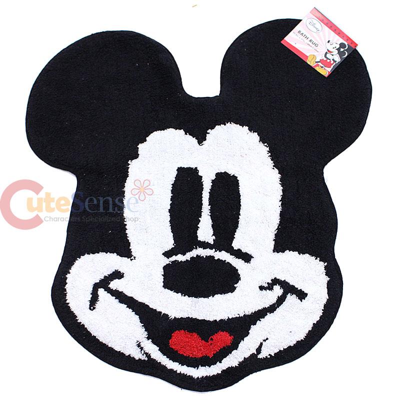 disney mickey mouse cotton rug bathroom bedroom