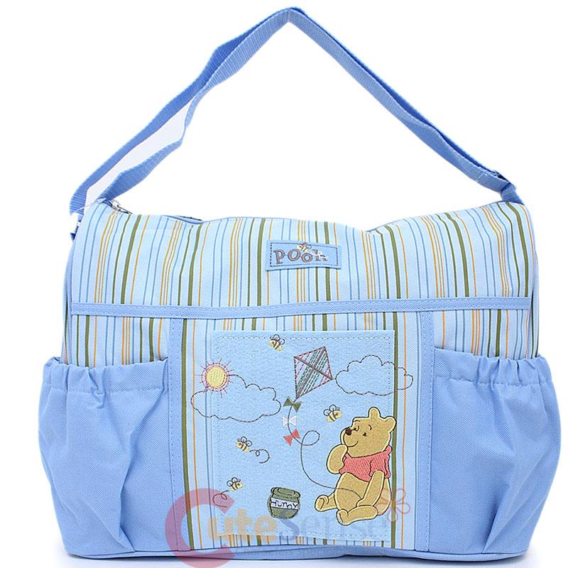 Disney Winnie the Pooh & Friends Small Diaper Bag for Baby ...  Winnie The Pooh Baby Bag