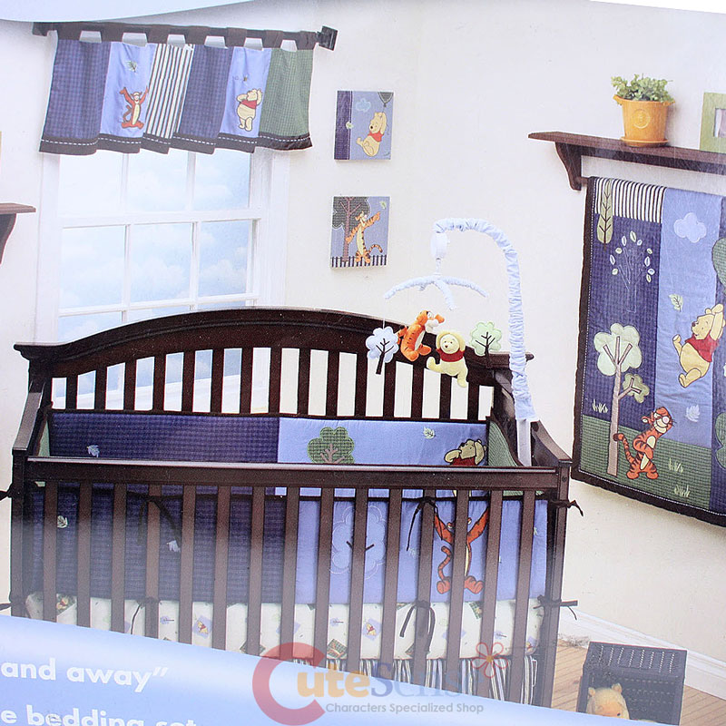 Winnie the Pooh with Friends Baby 4pc Cotton Crib Bedding ...