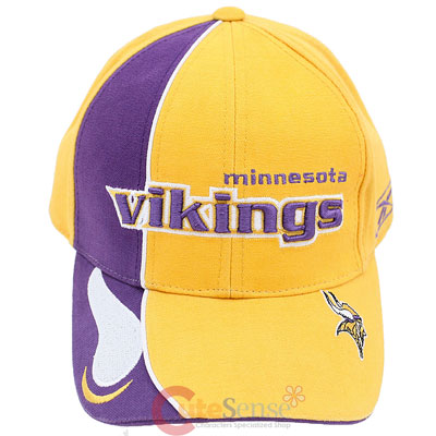 Minnesota Vikings Baseball Cap NFL Reebok Adjustable Hat a7831250d