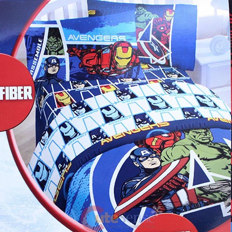 Marvel Avengers 4pc Full Bedding Comforter Set Iron Man