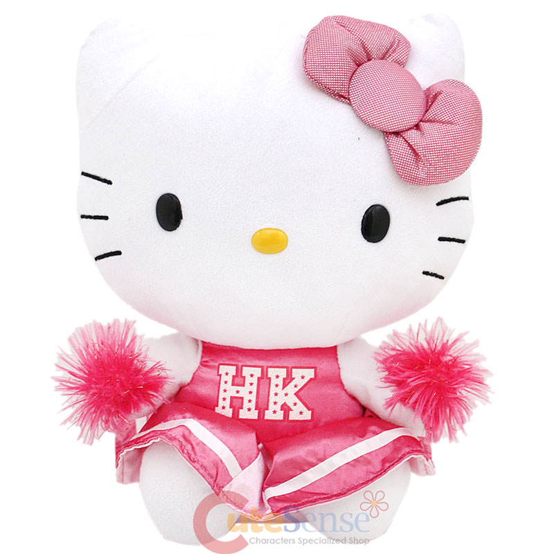 Hello Kitty Cheerleader Coloring Pages : Hello cheer la colouring pages