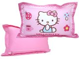 Sanrio Hello Kitty Large Bedding Pillow Cover with Cushion -24in