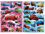 Disney Cars Mcqueen Removable Wall / Window Stickers Set of 2