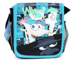 Phineas and Ferb School Lunch Snack Bag :Flip DJ