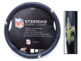 NFL New Orleans Saints Car/Truck Steering Wheel Cover