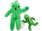 Final Fantasy Cactuar Green Cactus Plush Doll-12in