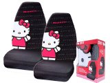 Sanrio Hello kitty Front Car Seat Cover -2pc Big Kitty