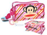 Paul Frank Clear Pouch Bag /Cosmetic Bag  -Pink