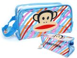 Paul Frank Clear Pouch Bag /Cosmetic Bag  -Blue