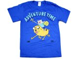 Adventure Time Finn & Jake  Men's T-Shirt  -M