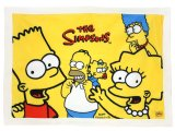 The Simpson Family Plush Blanket 29x40