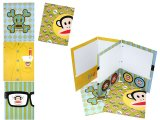Paul Frank Folder-3-Hole  File Jacket Stationary set -4PC