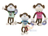 Disney Bobby Jack Monkey Plush Doll Set -13in 3pc