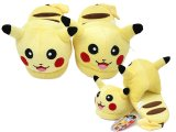 Pokemon Pikachu Plush Slipper -Adult Size