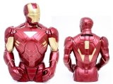 Marvel Iron Man Bust Figure Coin Bank