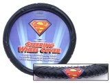 Marvel Superman Auto Car Steering Wheel Cover -Color Logo