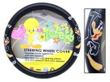 Looney Toon Daffy Duck Auto Car Steering Wheel Cover