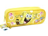 Nick Jr. SpongeBob Canvas Pencil Case, Bag :Yellow
