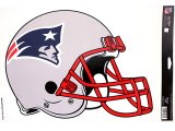NFL New England Patriots Helmet  Window Decal Cling