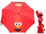 Sesame Street Elmo Kids Umbrella : Big Face
