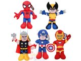 Marvel Heroes Plush Doll Colletion Set: 14in