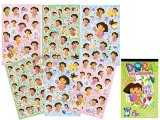 Dora the Explore Dora Collectable  Stickers Book -136pc