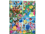 Disney Princess Removable Wall / Window Stickers Set of 4