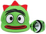 Yo Gabba Gabba Brobee Flat Bill Cap Hat (Adjustable)