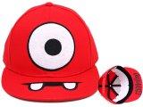 Yo Gabba Gabba Muno Flat Bill Cap Hat (Adjustable)